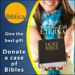 Donate a case of Bibles