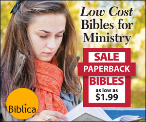 Low cost Bibles for ministry giving