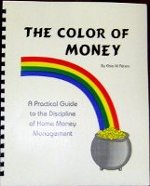 The Color of Money - 1 year budgeting & bookkeeping system - all in one book